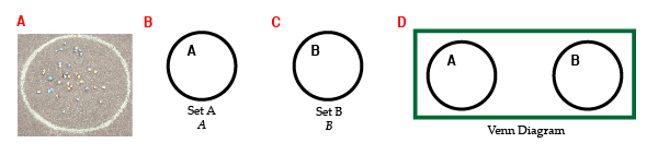 Venn diagram mathmastery blog there is a visually mathematical way of representing the concept a collection of well defined and distinct objects is referred to as a set bc ccuart Gallery